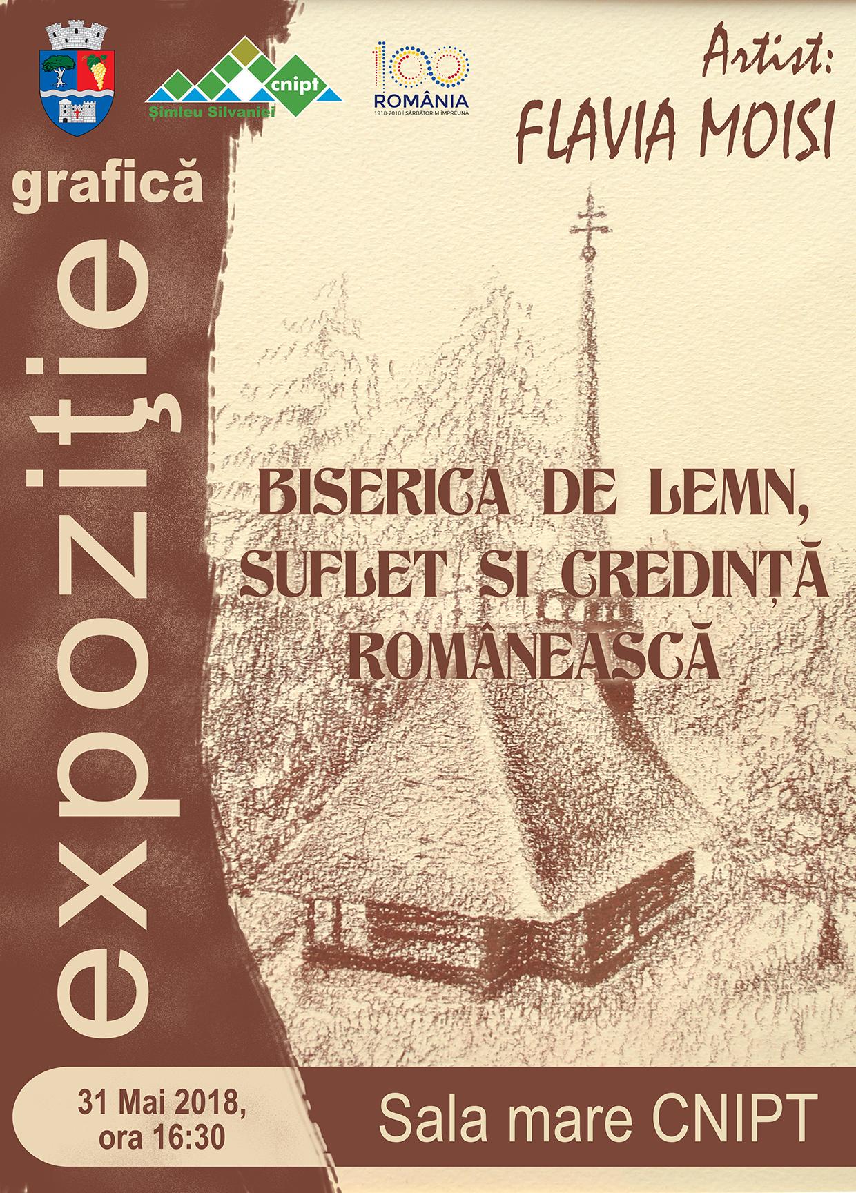 Biserica de lemn, suflet și credință românească – Expoziție grafică