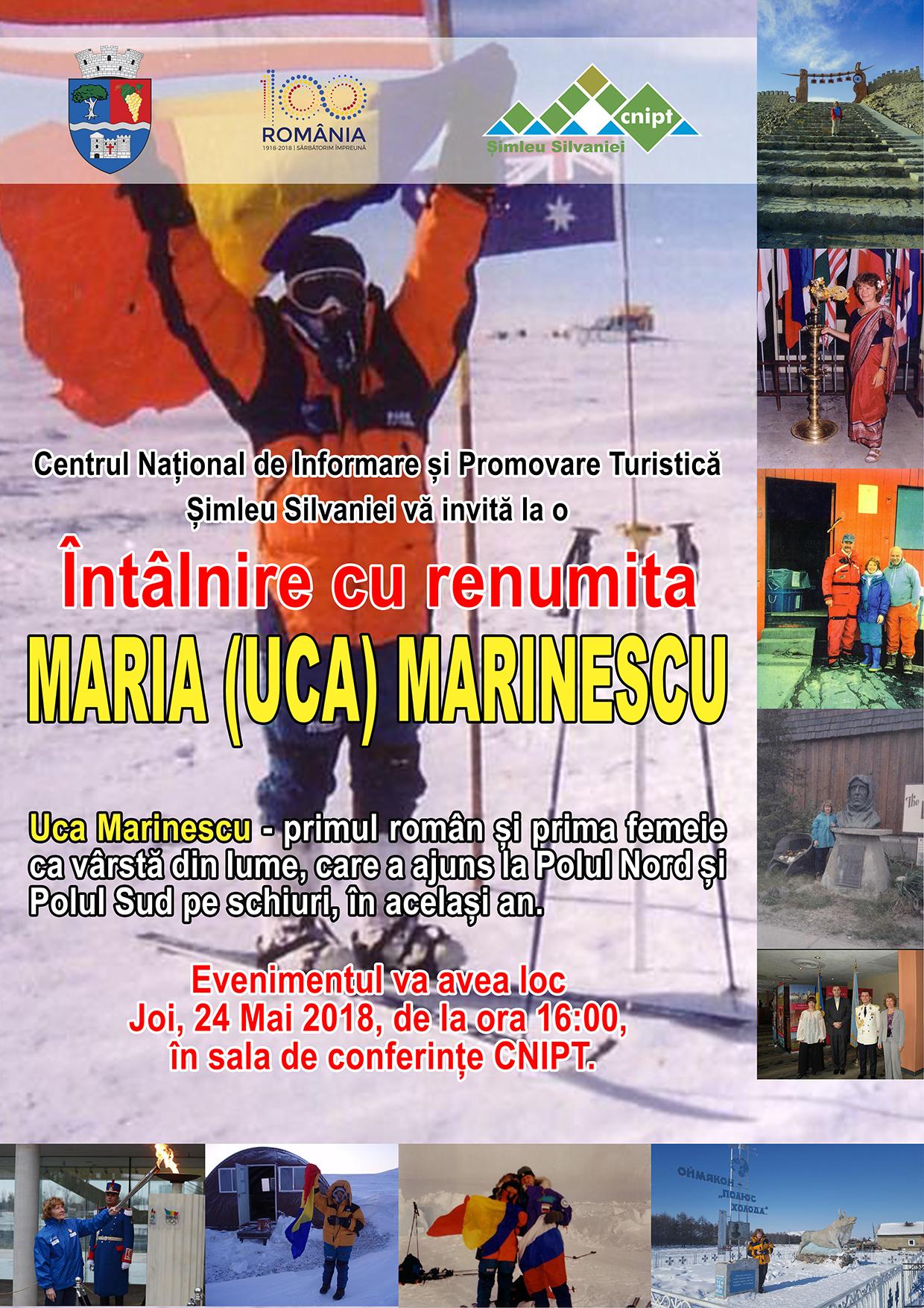 Întâlnire cu renumita Maria (Uca) Marinescu