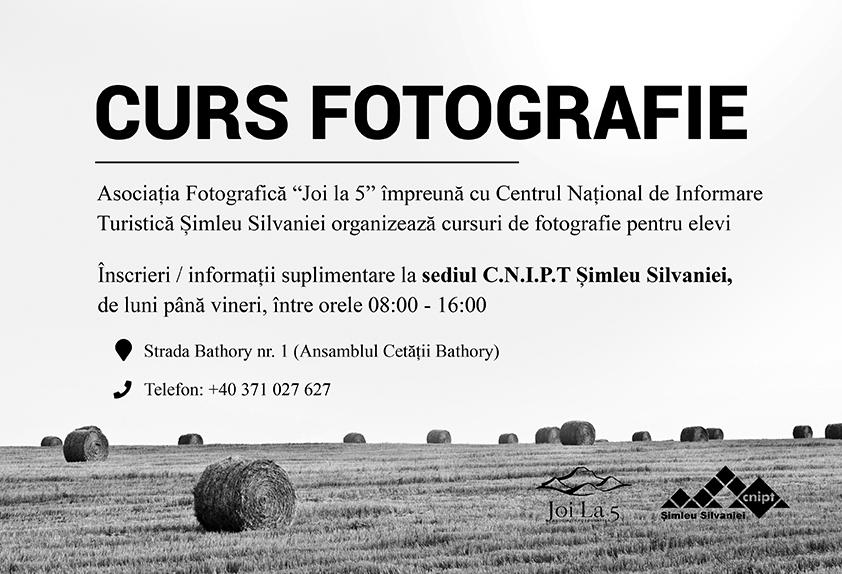 Curs de fotografie pentru elevi