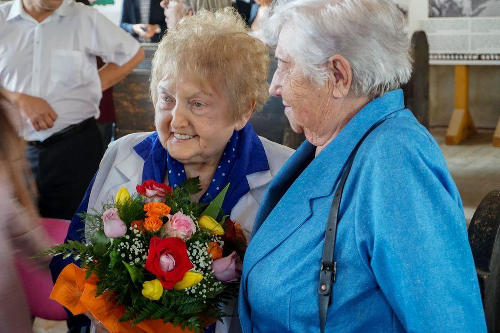 Eva Mozes Kor, supraviețuitoare de la Auschwitz,  și-a spus povestea la Șimleu Silvaniei