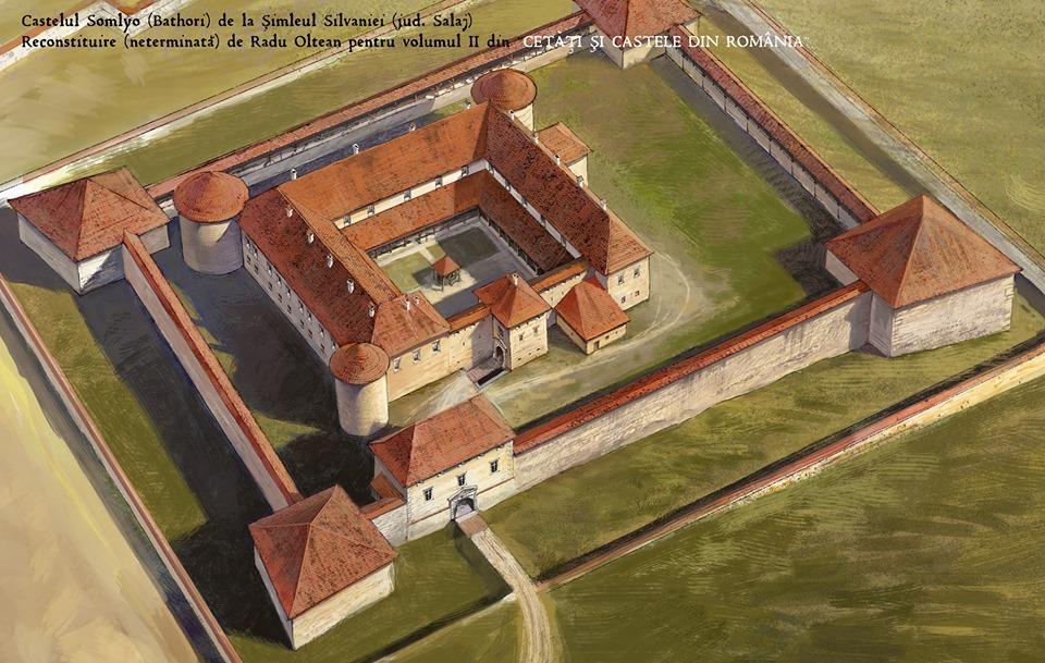 Cetatea și Castelul Bathory