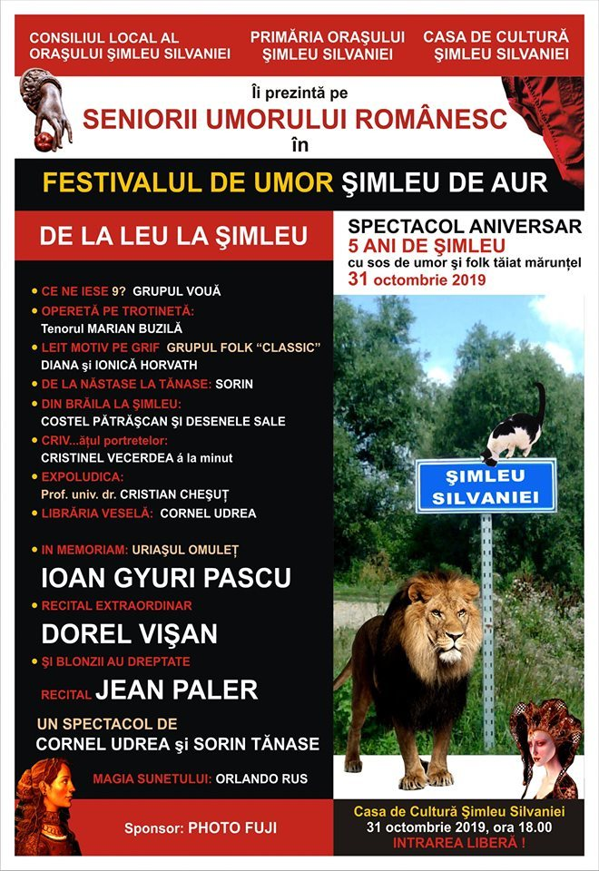 """Festival de Umor """" De la Leu la Șimleu"""""""