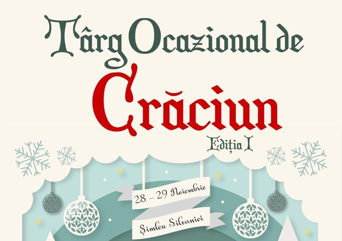 Târg Ocazional de Crăciun în Parcul Cetății din Șimleu Silvaniei