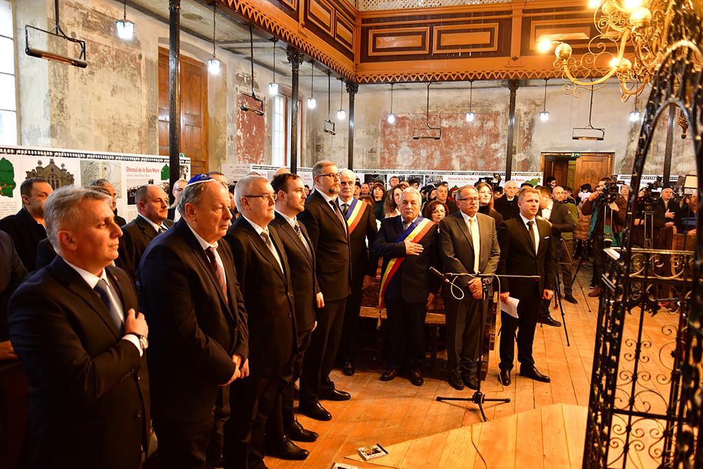 Ministrul Transporturilor și reprezentanți ai Ambasadelor Belarusului, Federației Ruse și Poloniei la București – prezenți la Șimleu Silvaniei de Ziua Internațională de Comemorare a Victimelor Holocaustului