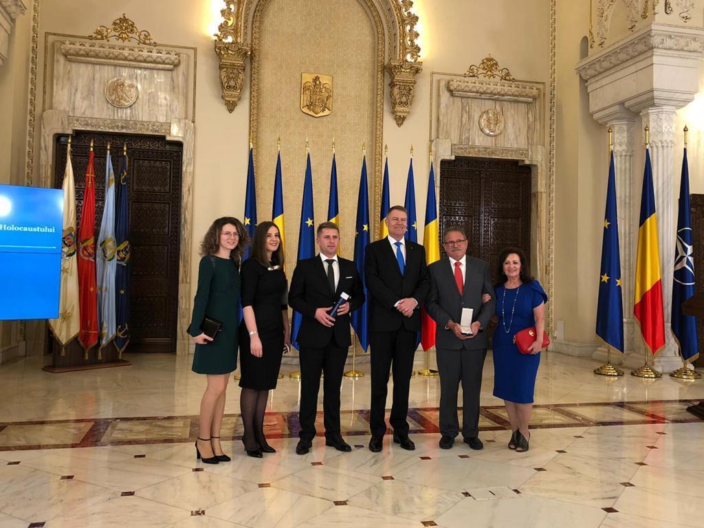 """Muzeul Holocaustului din Transilvania de Nord din Șimleu Silvaniei a primit Ordinul """"Meritul cultural"""" în grad de """"Cavaler"""" de la președintele României"""