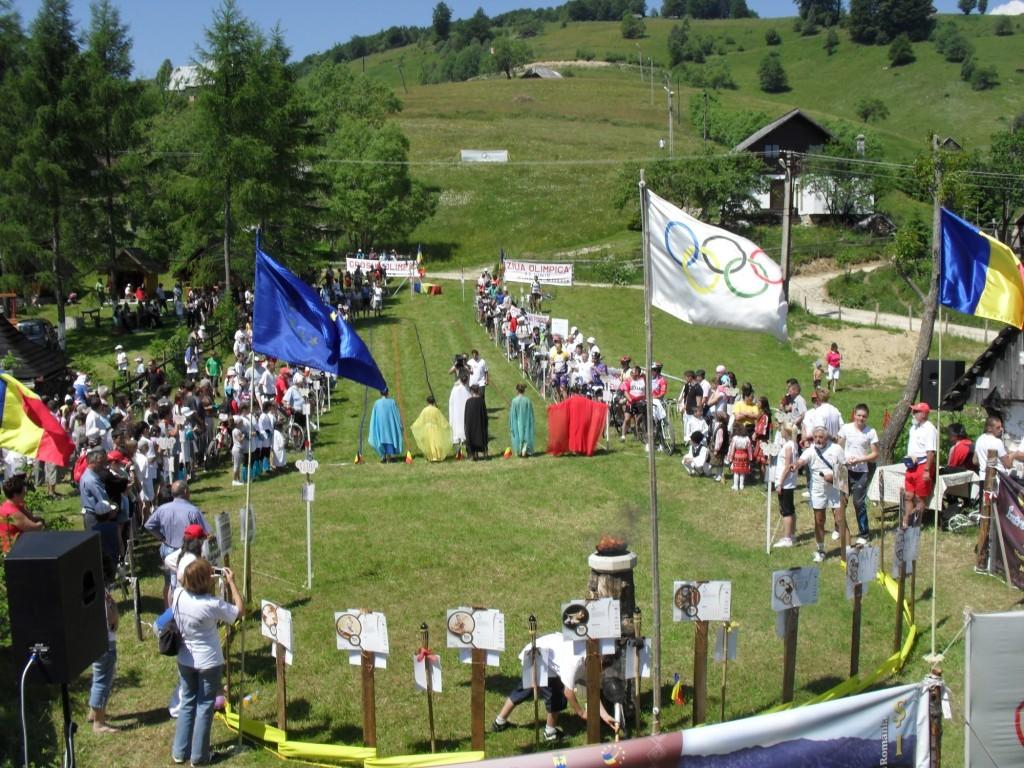 Şimleuani la Ziua Olimpică