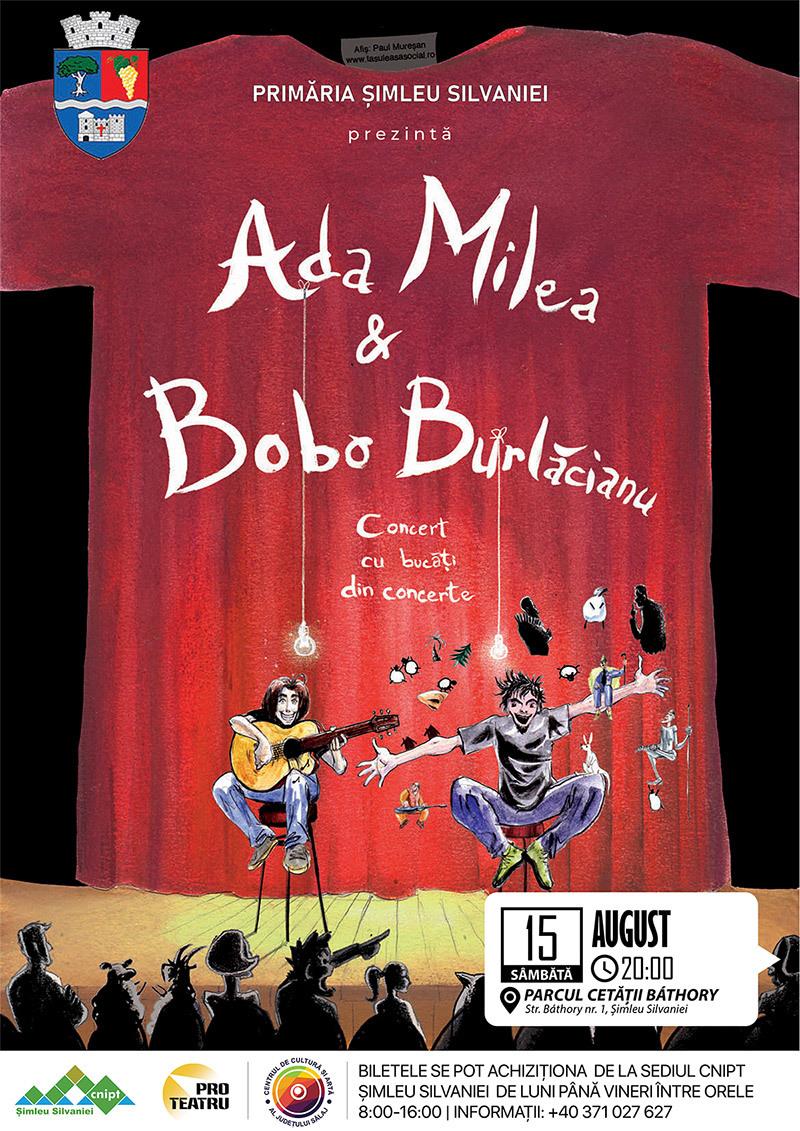 Concert Ada Milea și Bobo Burlăcianu la Șimleu Silvaniei