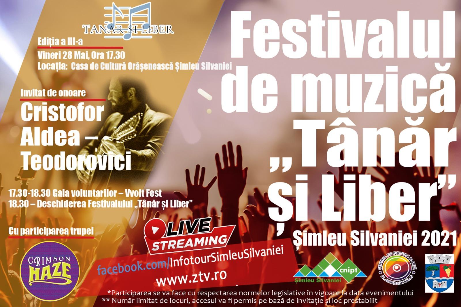 """Festivalul de muzică """"Tânăr și liber"""""""