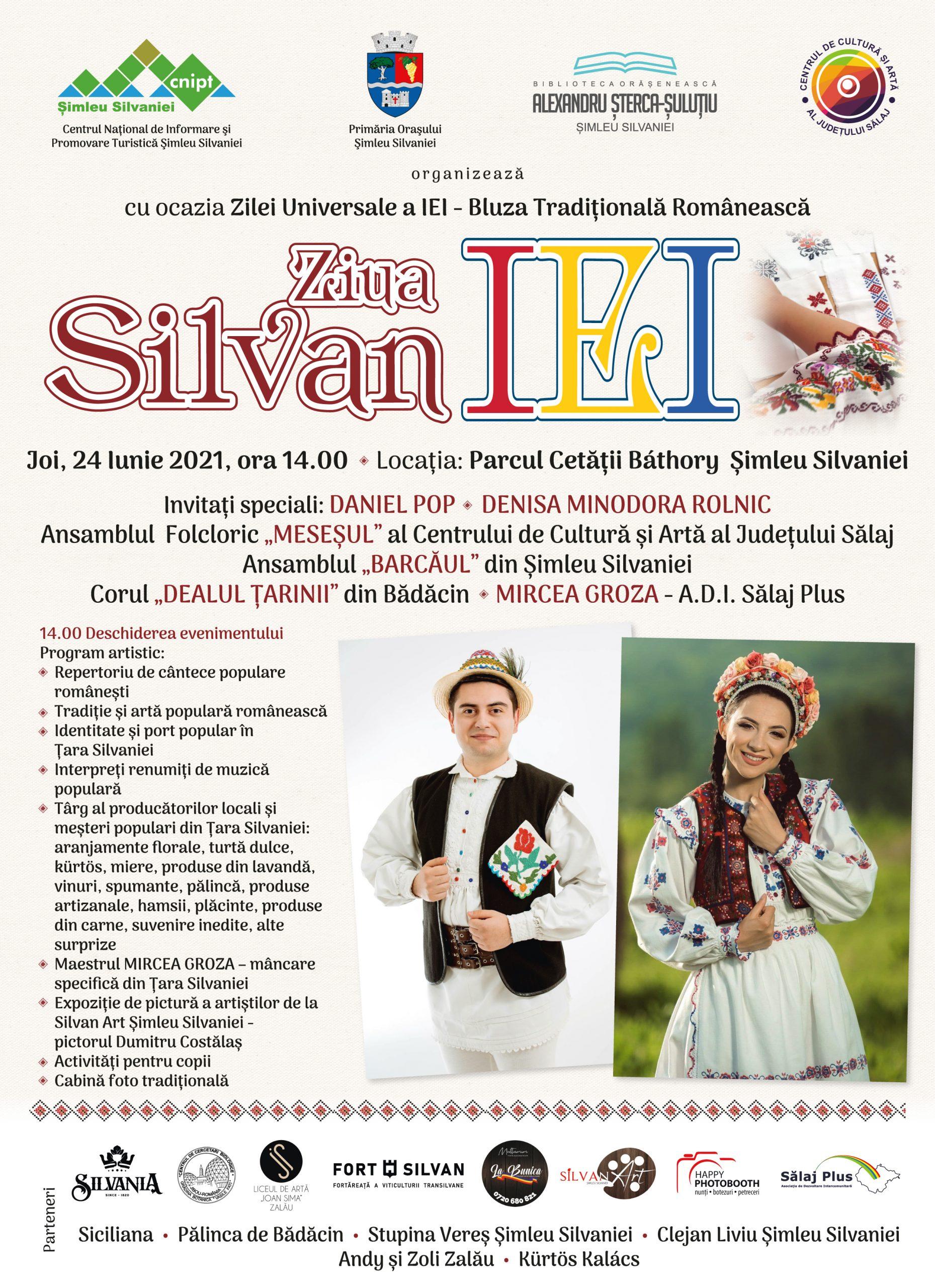"""Ziua SilvanIei""  Joi, 24 Iunie 2021"